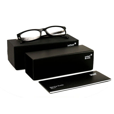 f7e6b5c6ad NEW MONT BLANC Eyeglasses MB 578 001 Black Gold 55•18•145 With Case ...
