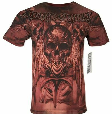 XTREME COUTURE by AFFLICTION Men T-Shirt POWER SLAVE Cross Tattoo Biker UFC $40