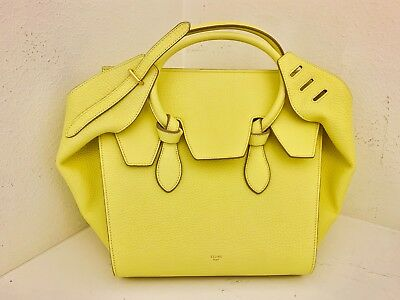 CELINE TIE KNOT Tote Smooth Leather Small -  1,130.00   PicClick f5037349bc