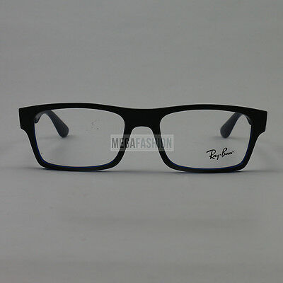 c078b274853 New Ray Ban Eyeglasses RB 5298-5389 Matte Gray Acetate 53 17 135 Authentic