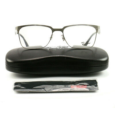 edef88357d6 RAY-BAN RX6344 EYEGLASSES 2553-54-17-140 Bhushed Gunmetal Metal Demo ...