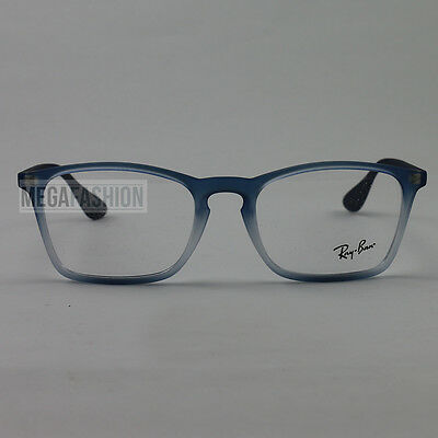 e47cc2c200 New Ray Ban Eyeglasses RB 7045-5601 Navy Carbon Fiber 53 18 140 Authentic