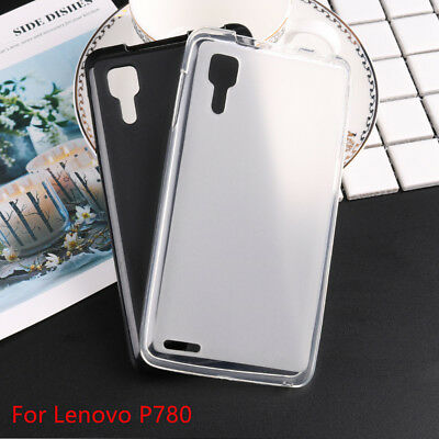 Soft Silicone TPU Mobile Phone Cover Case Skin For Lenovo P780 A536 A859 S850