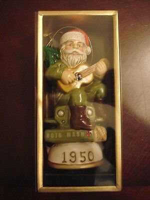 Memories of Santa Collection 1950 Mash Santa 8067 Unit New In Box