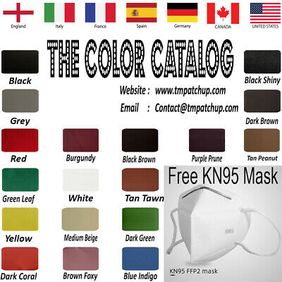 Genuine Leather Repair Patches Kit, Multi Colors & Sizes - 3 DAYS FREE SHIPPING
