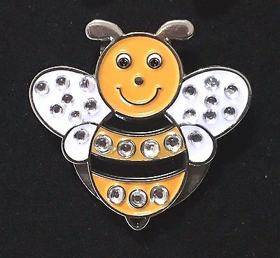 Bumble Bee Magnetic Hat Clip Ball Marker New