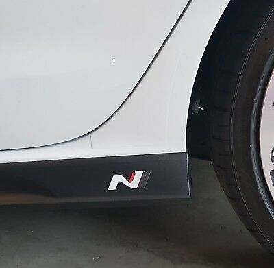 Hyundai i30n veloster Side Skirt Logo/badge/sticker TOUGH QUALITY LIMTED STOCK!