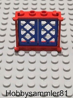 2 Windows in Tan with Brown Lattice 3853 2529 Lego - GMT251
