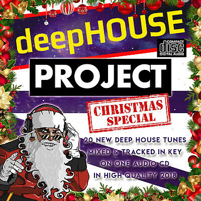 NEW Deep House Project Christmas Special 2018 MIXED CD DJ DEEP HOUSE DANCE CLUB