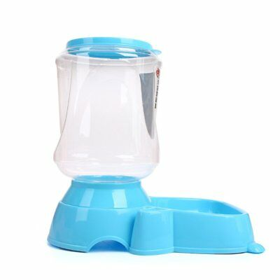 Automatic Fountain Drinker Pet Cat Dog Feeder Dish Bowl Food Water Dispenser SG