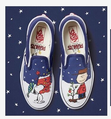 dirt cheap classic shoes new styles VANS X PEANUTS Slip-on Limited Snoopy and Charlie Brown ...