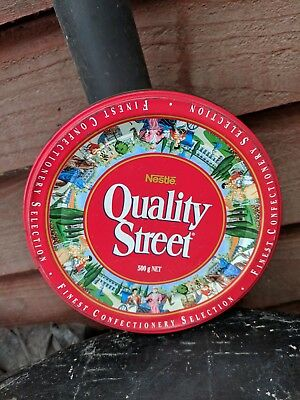 Vintage Collectable Quality Streets Chocolates Tin