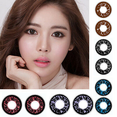 1 Pair Soft Big Eyes Contact Lenses Christmas Party Cosplay Makeup Eyewear Mejor