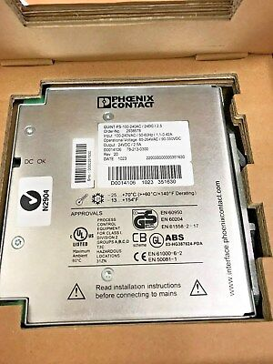 Phoenix Contact Power supply QUINT-PS-100-240AC/24DC/2.5 IN 100-240AC OUT 24VDC