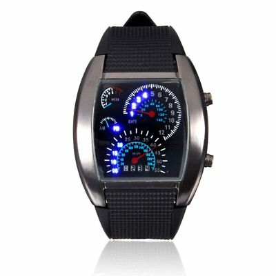 Fashion Men's Watch Unique LED Digital Watch Men Wrist Watch Electronic Sport US