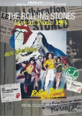 NEW ROLLING STONES / LIVE IN PARIS 1976 (2DVD+2CD)##na