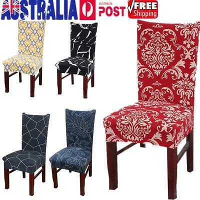 1/4/6/8Pcs Stretch Dining Chair Cover Removable Slipcover Washable Banquet Event