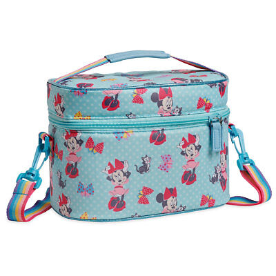 NWT Disney Store Minnie Mouse Club House Lunch Box Tote Bag School Girl Figaro