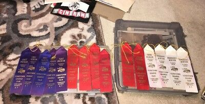 Lot 15 Grange Fair Ribbons Yorktown Heights NY produce & Flower Shows