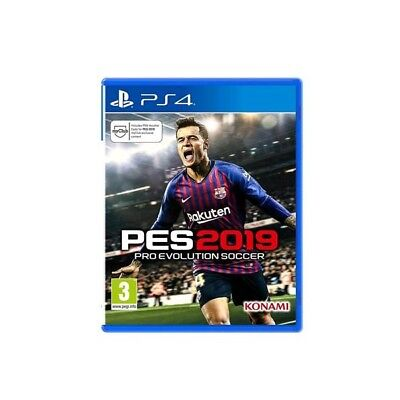 Konami Ps4 Pro Evolution Soccer 2019 - Pes 2019