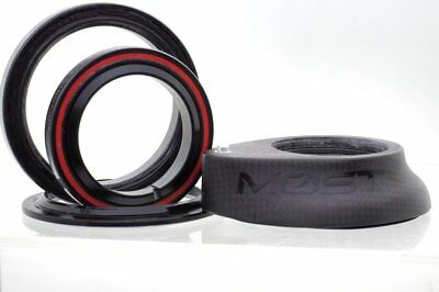 Pinarello Most Round HEADSET FULL CARBON 1K Weave 4.5mm Top Cap