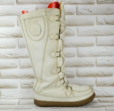 106e3601441 TIMBERLAND Rugged Outdoor Womens Leather Mukluk Winter Boots Size 5 UK 38 EU