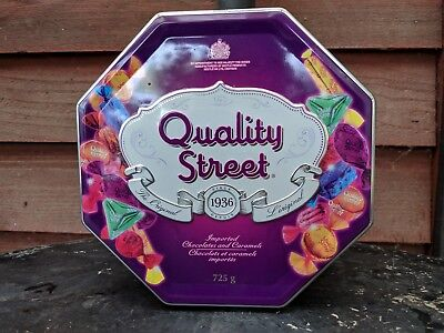 Collectable Quality Streets Chocolates Tin