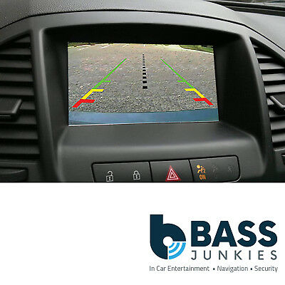 Opel Insignia 2009 - 13 CD500 DVD800 NAVI-600 Video In Reverse Camera Interface