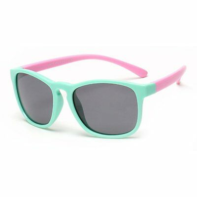 Children Polarized Silicone Sunglasses Anti-UV Sunglasses Kids Glasses FG