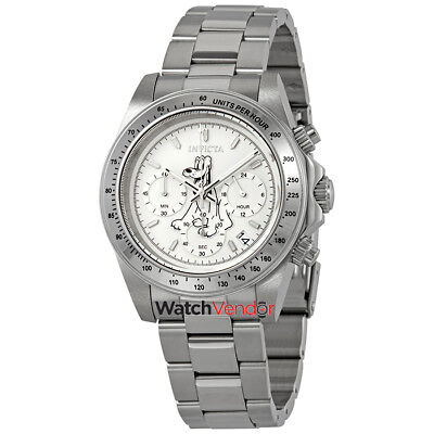 Invicta Disney Limited Edition Chronograph White Dial Men's Watch 24398