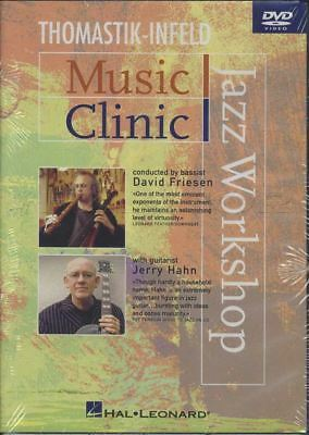 Music Clinic Jazz Workshop Tuition DVD Learn How To Play David Friesen