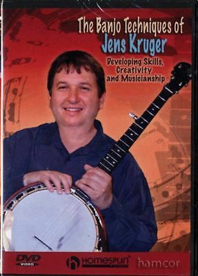 The Banjo Techniques of Jens Kruger Learn to Play DVD