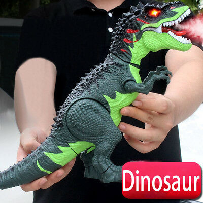 Walking Dragon Toy Fire Breathing Water Spray Dinosaur Christmas Gift For Kids U