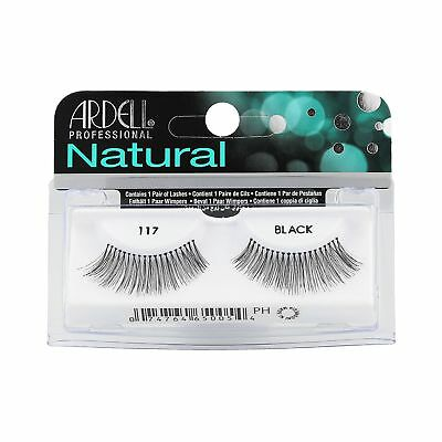 ARDELL NATURAL LASHES 117 Black Faux-cils 1 paire