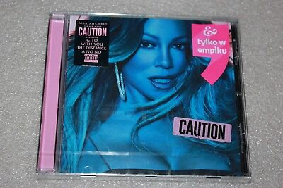 Mariah Carey - Caution CD Polish Stickers NEW SEALED