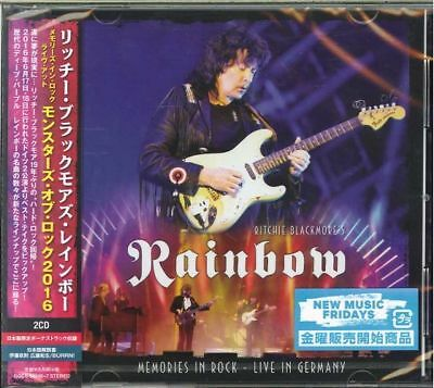 Ritchie Blackmores Rainbow-Memories In Rock  Live.-Japan 2 Cd Bonus Track I19