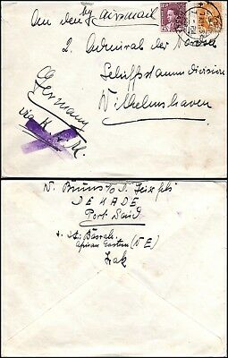Goldpath: IRAQ cover 1937, to England  _CV23_P12