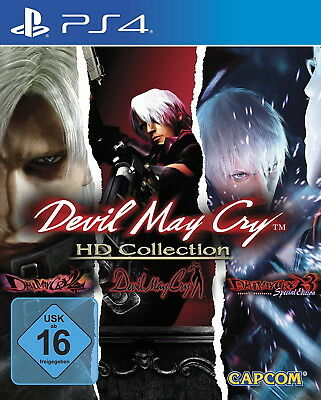 Devil May Cry HD Collection PS4 (Sony PlayStation 4, 2018) NEUWARE