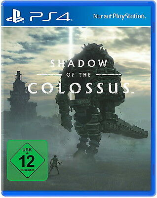 Shadow Of The Colossus PS4 (Sony PlayStation 4, 2018) NEUWARE
