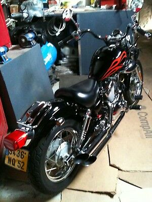 Yamaha Virago 125 ( 220cc  ) showbike  ENGLISH SPOKEN 1430km