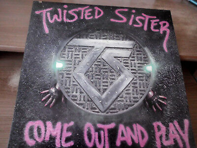 """Twisted Sister - Come out and play - Atlantic 81275-1-E - Gimmick -12""""LP"""