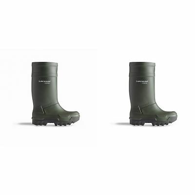 Dunlop C662933 Purofort Thermo + Full Safety Wellington / Womens Boots (FS1485)