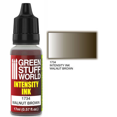Tinta de Intensidad WALNUT BROWN - Marrón Aerografo y Pincel Pintura Acrilica