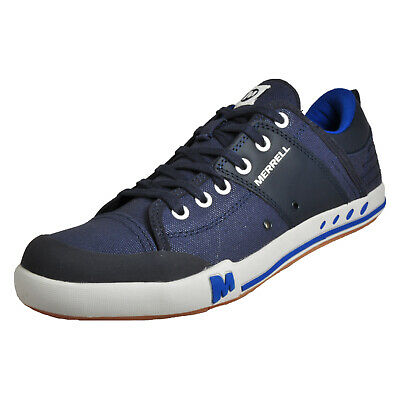 watch 58522 8ef01 Merrell Rant Mens Casual Urban Outdoor Trainers Shoes Indigo