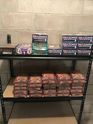LOT OF OLD Vintage UNOPENED BASKETBALL CARDS PACKS Michael Jordan Card Bonuses