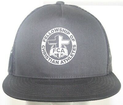 FCA Fellowship of Christian Athletes Yupoong TheClassic Trucker Hat Snapback Cap