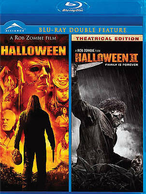 Rob Zombie's Halloween / Halloween 2 (Double Feature) [Blu-ray] NEW Unrated Cut