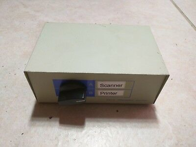 2-Way DB25 DB 25 Pin Manual Parallel Port AB I/O Switch Switcher Selector Box