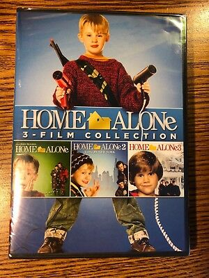 Home Alone Film Collection - 3 Movies (DVD) Home Alone 1-2-3 BRAND NEW Christmas