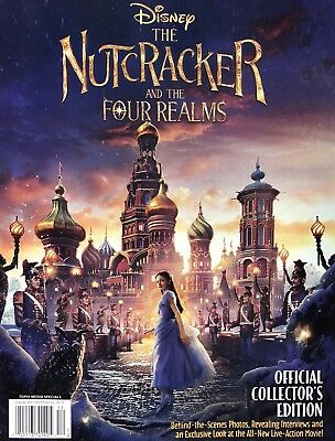 Walt Disney Nutcracker And The Four Realms Collector'S Edition Magazine New 2018
